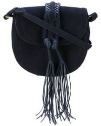 Altuzarra - Braided Detail Saddle Bag - Lyst