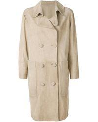 Golden Goose Deluxe Brand   Nives Suede Coat   Lyst