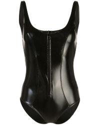 Lisa Marie Fernandez - Front Zip Swimsuit - Lyst