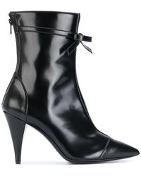 Philosophy Di Lorenzo Serafini - Bow Detail Ankle Boots - Lyst