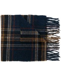 Barbour - Checked Scarf - Lyst