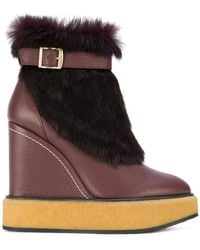 Paloma Barceló - Wedge Snow Boots - Lyst