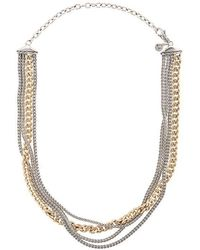 John Hardy - Adwoa Aboah 18kt Yellow Gold And Silver Classic Chain Multi-row Adjustable Necklace - Lyst