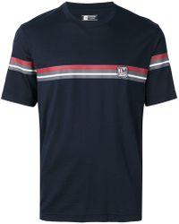 Z Zegna - Techmerino Contrasting Stripe T-shirt - Lyst