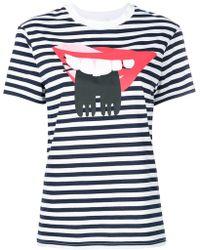 Peter Jensen - Jersey Lips T-shirt - Lyst