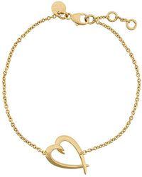 Shaun Leane - Tusk Heart Bracelet - Lyst