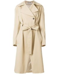 AALTO - Belted Trench Coat - Lyst