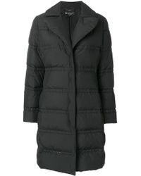 Ferragamo - Long Padded Coat - Lyst