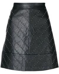 Liu Jo - A-line Studded Skirt - Lyst
