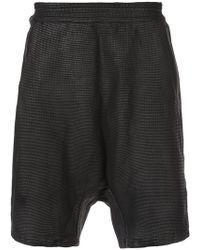 Boris Bidjan Saberi 11 - Elasticated Waist Shorts - Lyst