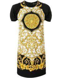 Versace - Baroque-print Dress - Lyst