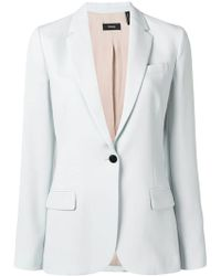 Theory - Tailored Blazer Jacket - Lyst