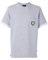 Philipp Plein - Badge Pocket Sweat T-shirt - Lyst