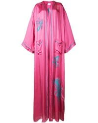 Vionnet - Logo Embroidered Long Cardigan - Lyst