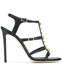 Grey Mer - Embellished Strappy Sandals - Lyst