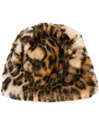 Faliero Sarti - Leopard Print Beanie - Lyst