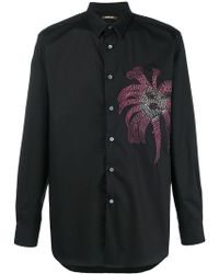 Roberto Cavalli - Embroidered Shirt - Lyst