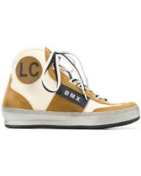 Leather Crown - Bmx Hi-top Sneakers - Lyst