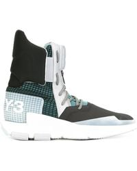 Y-3 - Noci High Trainer Boots - Lyst