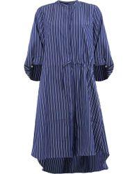 Maison Rabih Kayrouz - Vestido camisero a rayas - Lyst