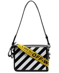Off-White c/o Virgil Abloh Striped Tape Shoulder Bag