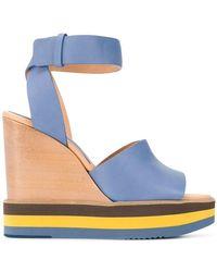 Paloma Barceló - Wedge Sandals - Lyst