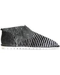 Marsèll - Striped Slip-on Sneakers - Lyst