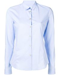 PS by Paul Smith - Curved Hem Shirt - Lyst