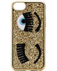 Chiara Ferragni - Iphone S6/7/8 Glitter Flirting Sneakers - Lyst