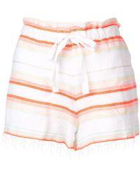 lemlem - Fiesta Striped Shorts - Lyst