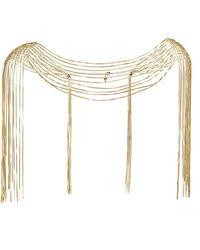 Rosantica - Aquilone Chain Body Piece - Lyst