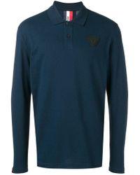 Rossignol Logo Patch Polo Shirt - Blue