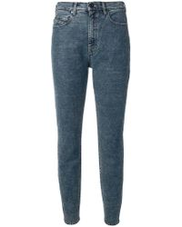 Diesel Black Gold - High-waisted Slim Jeans - Lyst