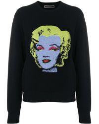 Versace - Marylin Monroe Print Sweatshirt - Lyst