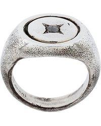 Henson - Rose Diamond Flip Ring - Lyst