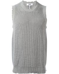 MSGM | Knitted Vest | Lyst