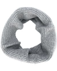Joseph | Knitted Circle Scarf | Lyst