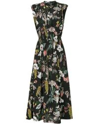 Markus Lupfer - Floral-print Dress - Lyst