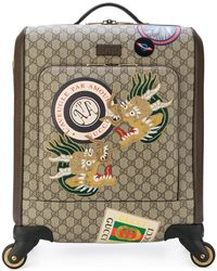 Gucci - Courrier Gg Supreme Carry-on - Lyst