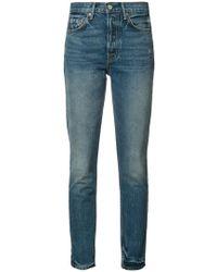 GRLFRND - Karolina Cropped Jeans - Lyst