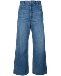 Rachel Comey - Flared Cropped Jeans - Lyst