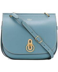 Mulberry - Flap Fastened Crossbody Bag - Lyst