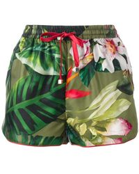 F.R.S For Restless Sleepers - Floral Patterned Shorts - Lyst