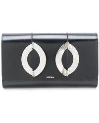 PERRIN Paris - Foldover Box Clutch - Lyst