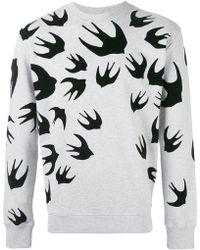 McQ - Sweatshirt mit Print - Lyst