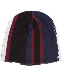 Baja East - Printed Stripe Beanie - Lyst