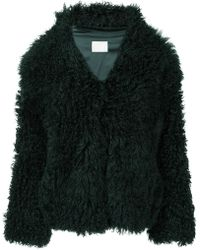 Dion Lee - Shearling Coat - Lyst