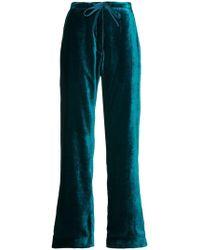 Mira Mikati - Velvet Pyjama Trousers - Lyst