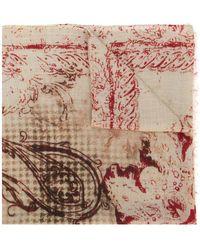 Etro - Paisley Print Scarf - Lyst