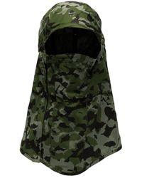 Nike X Mmw Camouflage Cap Balaclava